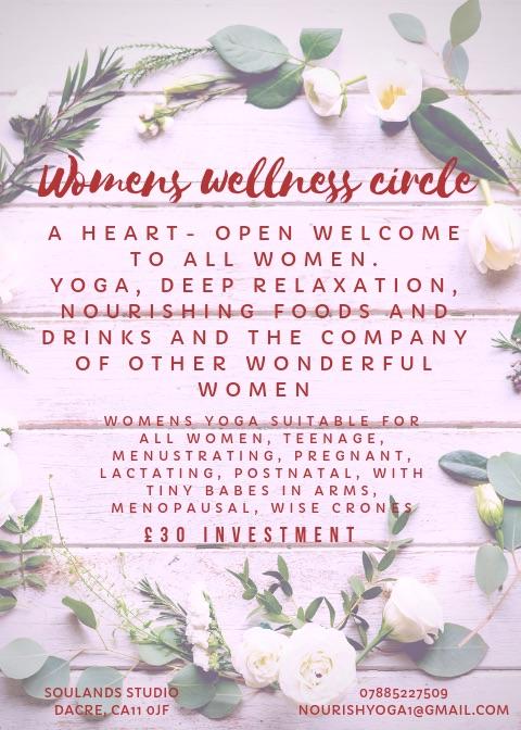 Women's wellness circle with Emily Hoyle