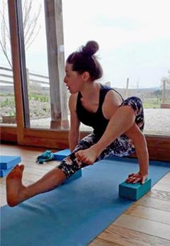 Kate Stannard Iyengar Yoga at Soulands Studio